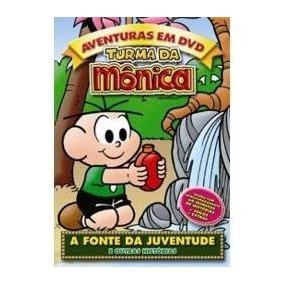 Dvd Turma Da Monica Fonte Da Juventude