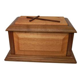 Urna Funeraria Para Cenizas En Maderas Finas