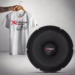 Auto Falante Shutt 15 Polegadas 2.4k 1200w Woofer + Camiseta