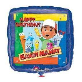 Papel De Aluminio De 18 Pulgadas Handy Manny Cumpleaños Glo