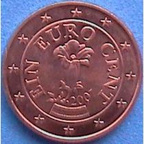 Spg Austria 1 Eurocent 2007 ( Genciana-flor De Los Alpes)