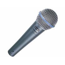 Microfone Profissional Shure Beta 58a Sm58 Original