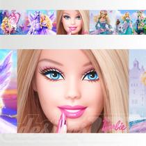 Adesivo 123 Faixa Border Infantil Menina Barbie Un Mod 160
