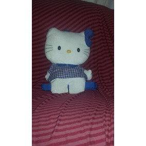 Peluche Mochila De Hello Kitty Original
