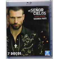 El Señor De Los Cielos Segunda Temporada Parte 1 Y 2 Blu-ray