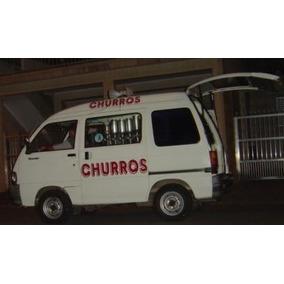 Vinheta Churros , Peixe, Ovo, Melancia Vendas Ambulantes