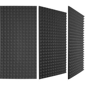Espuma Acustica Piramidal Lamina 2m X 1.20m Panel Quita Eco