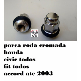 Porca Parafuso Roda Prisioneiro Honda Civic Fit Accord Crv