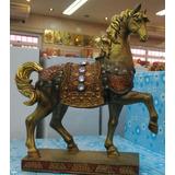 Cavalo De Bronze (25 Cm)