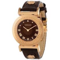 P5q80d598 S497 \ Vanidad\ Oro Rosa Ion-plateada Reloj Vers