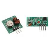 Módulo Emissor E Receptor Rf 433 Mhz Transmissor - Arduino