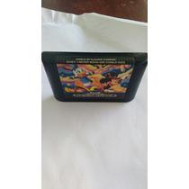 Mega Drive Jogo Mickey Mouse Original Sega Tec Toy