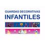 Guardas Infantiles Princesas Barcelona 3 Metros X 15cm $490
