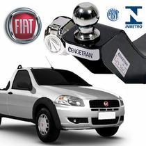 Engate Para Reboque Rabicho Inmetro Fiat Strada 2003 A 2015