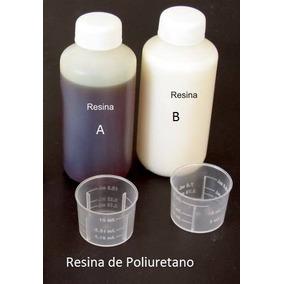Resina Espuma Flexible De Poliuretano A+b Total 500ml Marfil