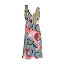 Vestido Solero Estampado Mujer Nuevo -talle Xl Nofret