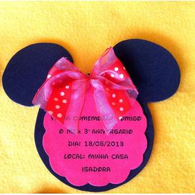 Convite Festa Minnie