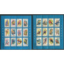 Aves Rumania Serie Completa De Estampillas Mint En Bloques
