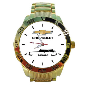 Relógio Silhueta Caravan 5758g Dourado Impacto Relógios