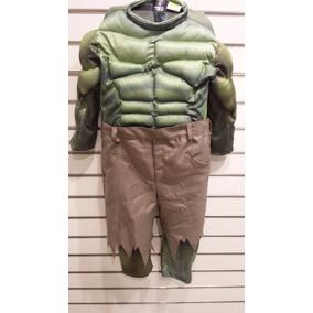 Disfraz De Hulk Nuevo Original Carnavalito Sellados