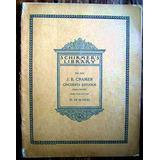 Partitura Jb Cramer 50 Estudios Para Piano Hans Von Bülow