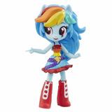 My Little Pony Equestria Girls Mini Rainbow Dash Rarity Flut