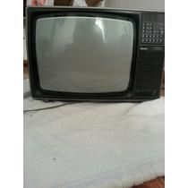 Tv Antiga Philips Com Controle Remoto