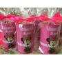 Cofrinho Personalizado Minnie Rosa Pink C/emb 10 Unid