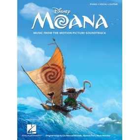 Moana - Partitura Para Piano Soundtrack De La Pelicula
