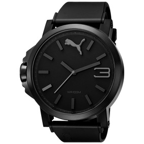 Puma Ultrasize Black 50mm 2901 Caucho Relojes Camp Diego Vez