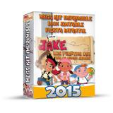 Kit Imprimible Jake Pirata Invitaciones 2x1 + Regalos