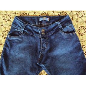 Linda Bermuda Em Jeans Com Elastano Cint. Média Marca Ozne