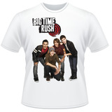 Camiseta Big Time Rush Nickelodeon Frente Verso Camisa #2