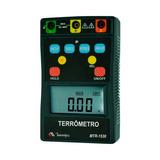 Terrômetro Digital Cat Iv/400v Data Hold Minipa Mtr-1530