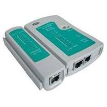 Tester 2en1 Probador Cable Red Utp Y Telefonico C/ Funda Op4