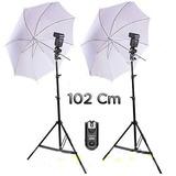 Kit Estudio Fotografico Yn 560 Iv Strobist Sombrillas 102cm!