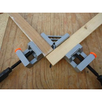 2 Prensas Esquineras Uso Rudo 65mm Herramienta Carpinteria