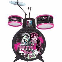 Bateria Infantil Monster High Infantil Fun Unidade