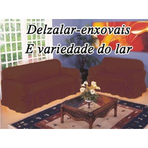 Capa P/ Sofá 2 E 3 Lugares Tecido Gorgurão Grosso