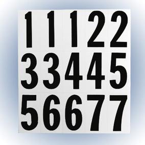 Números Negro Con Blanco 2 Pulgadas Hy-ko