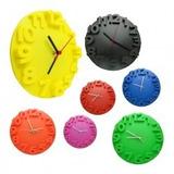 Reloj De Pared Alto Relieve 23cm+ Obsequio