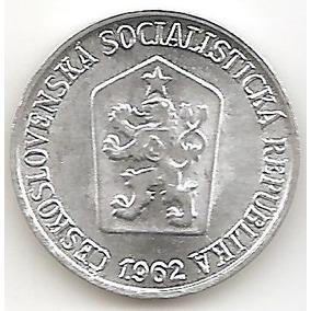 Chekoslovaquia Socialista, Haler, 1962. Sin Circular