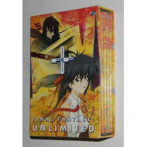 Final Fantasy Unlimited Serie 5 Dvd Anime Original Importada
