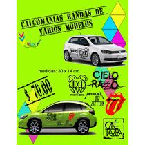 Calcomanias Logos Bandas De Rock