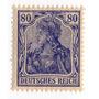 Deutsches Reich Germania 1916 80 Pfennig