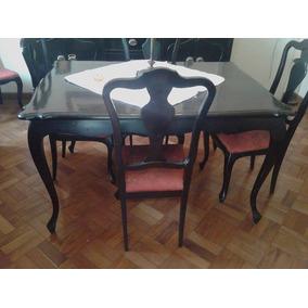Mesa Com 6 Cadeiras Mais Etager.