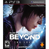 Juego Ps3 Beyond: Two Souls Formato Fisico Flores