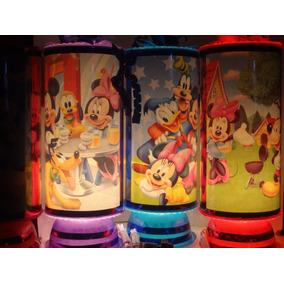 Mickey Mouse Centros De Mesa, Recuerdos, Lamparas