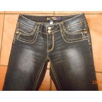 Jeans Angels Talla 12, 34 Mexico Mezclilla Stretch Tessa