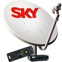 Oferta! Aparelho Sky Livre Sd Globo 1° Recarga Em 60 Dias!!